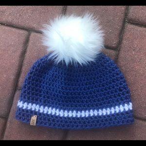 Handmade Blue & White Hat